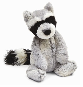 woodland babe racoon by jellycat
