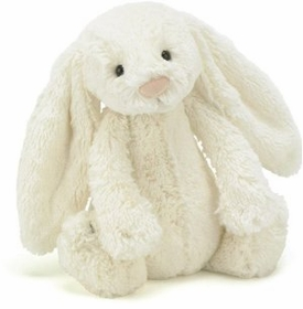 bashful bunny cream by jellycat