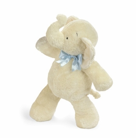smushy elephant with blue bow - 17 inch by north american bear