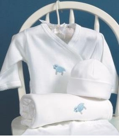 little lamb layette set