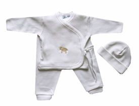 little lamb take me home layette set