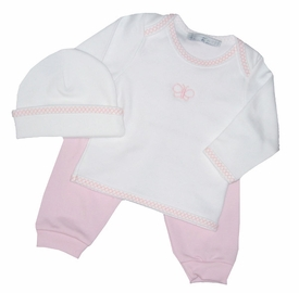 butterfly layette set