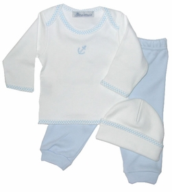 anchor layette set