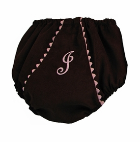 diaper cover - chocolate pink corduroy