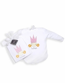 heiress layette outfit by coochie cooture