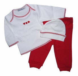 hearts shirt and pant set