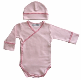cotton layette set - wrap