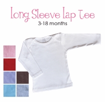 class favorite personalized long sleeve lap tee