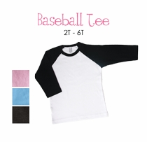 star personalized baseball tee (toddler)