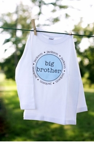 personalized big brother shirt  <br>(the original)