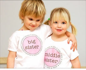 personalized middle sister shirt <br>(the original)