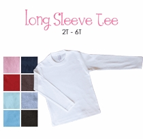 class favorite personalized long sleeve tee (toddler)