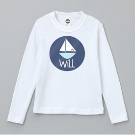 personalized sailboat tee shirt