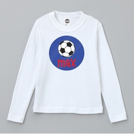 personalized soccer tee shirt