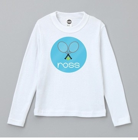 personalized tennis tee shirt