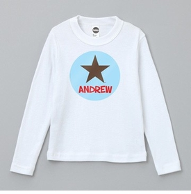 star tee with name