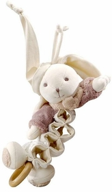 musical rabbit pull toy