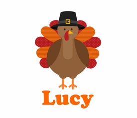 personalized turkey thanksgiving tee shirt