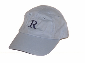 monogrammed baby baseball cap <br>(light blue or pink)