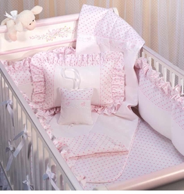jolie crib bedding by blauen