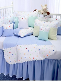 little zoo crib bedding