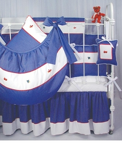 transportation crib bedding