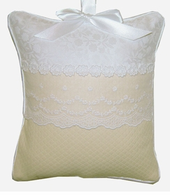 josephine lace crib bedding - by blauen fine linens