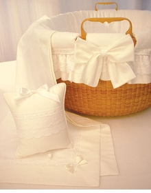 Blauen Nantucket Lightship Basket Linens