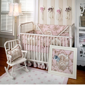 english rose garden crib bedding by new arrivals
