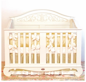 chelsea lifetime convertible crib (buttermilk)