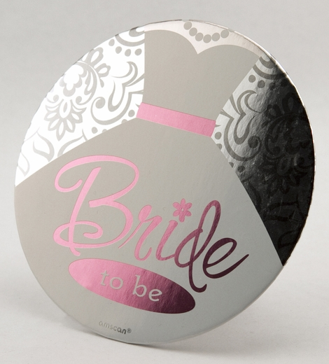 Giant Bride-to-Be Button