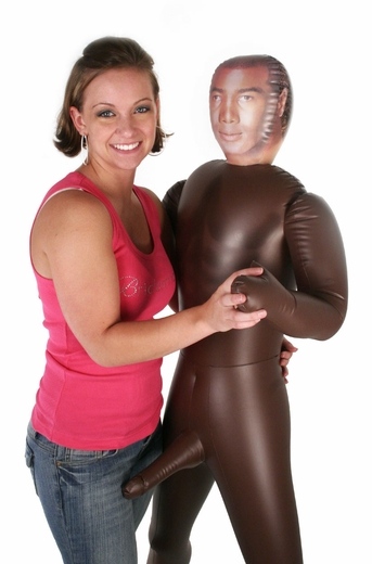 The Black Guy Inflatable Doll
