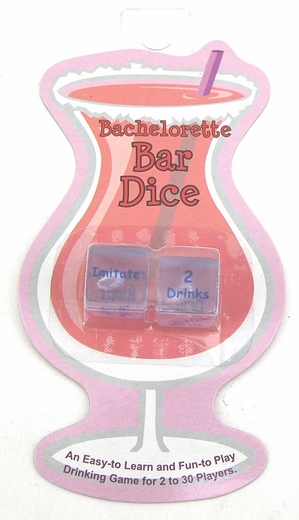 Bachelorette Party Drinking Dice