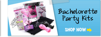 Order an entire kit for a bachelorette party and save yourself party planning time.  Our kids fit all needs and situations.  Bachelorette.com is the bachelorette party planning experts.