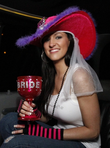 Blinged Out Bride Goblet