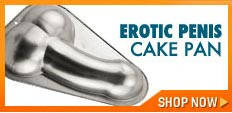 Gay bachelor party supplies - Gay penis cake pan