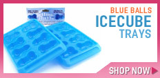 Blue Balls IceCube Trays