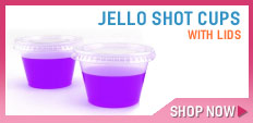 Jello Shot Cups