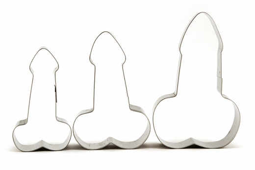 Penis Cookie Cutters - The Perfect Sizes! - 3