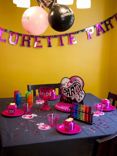 Bachelorette Party Centerpiece