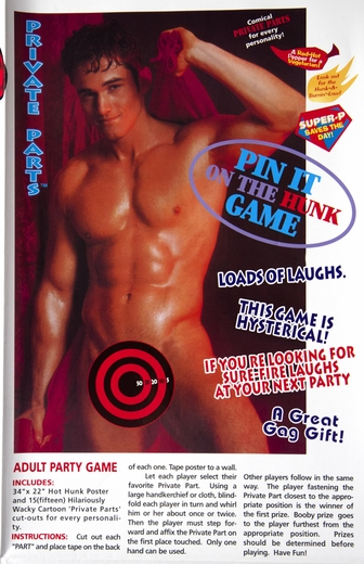 Pin It On the Hunk Game