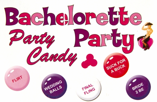 Bachelorette Party Candies - Fun-Sized Packs