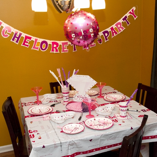 Bachelorette Party Activity Tablecloth