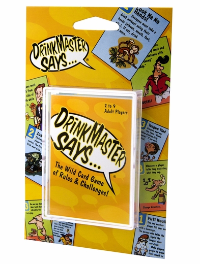Drink Master Says - Party Card Game