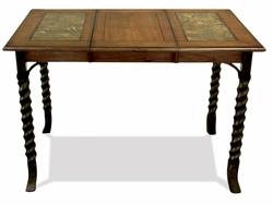 Riverside Medley Gathering Height Table with Mosaic Pattern - click to enlarge