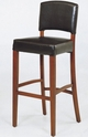 Armen Living Sonora Leather Barstool