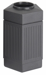 Safco Pentagon Indoor / Outdoor 30 Gallon Receptacle - click to enlarge