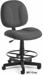 "Office Drafting Chair Stool  - (23 -31""H) - Free Shipping - click to enlarge"