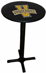 Sports Fan NCAA Commercial Vanderbilt University Pub Table - click to enlarge