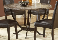 Hillsdale Furniture's Round Dining Monaco Table - click to enlarge